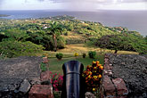 fortify stock photography | Tobago, Scarborough, Fort George, overlooking the sea, image id 8-5-1