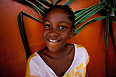 tradition stock photography | Tobago, Young girl, portrait, image id 8-56-37