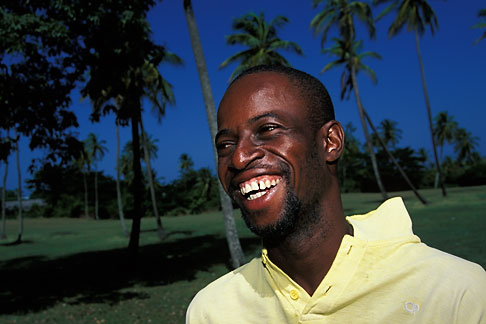 image 8-61-31 Tobago, Goat trainer