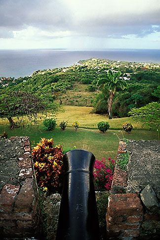 image 8-62-35 Tobago, Cannon, Scarborough Fort