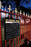 ornate stock photography | Trinidad, Port of Spain, Sign, Woodford Square, image id 8-13-24