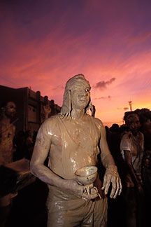 8-138-1 stock photo of Trinidad, Carnival, Jour Ouvert JOuvert