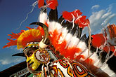 face stock photography | Trinidad, Carnival, Native American costume, image id 8-143-6