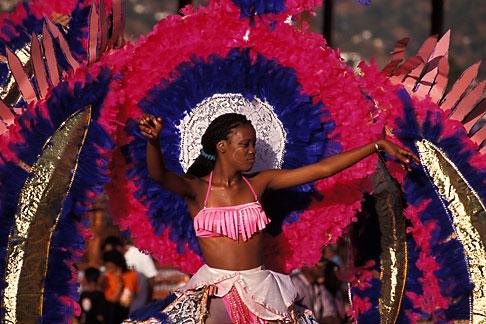 image 8-145-3 Trinidad, Carnival, Dancer