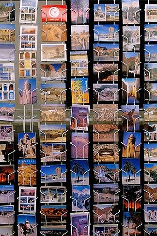 image 3-1100-102 Tunisia, Tozeur, Postcards