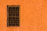 windows and wrought iron stock photography | Tunisia, Nefta, Window, image id 3-1100-103