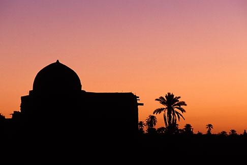 image 3-1100-27 Tunisia, Nefta, sunrise