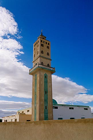 image 3-1100-54 Tunisia, Metlaoui, Minaret