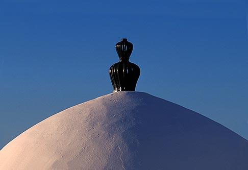 image 3-1100-60 Tunisia, Sidi Bou Said, Domed roof