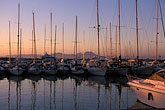 twilight stock photography | Tunisia, Sidi Bou Said, Harbor, image id 3-1100-66