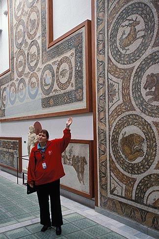 image 3-1100-87 Tunisia, Tunis, Bardo Museum, Mosaic