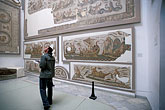 art display stock photography | Tunisia, Tunis, Bardo Museum, Mosaic, image id 3-1100-89