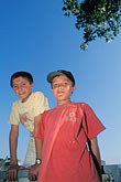 two boys stock photography | Turkey, Sel�uk, Young soccer players, image id 9-310-70