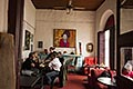interior stock photography | Uruguay, Colonia del Sacramento, Restaurant interior, image id 8-802-4333