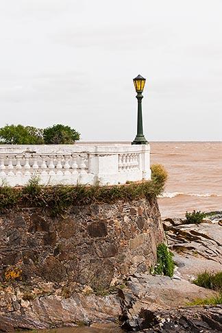 image 8-803-4654 Uruguay, Colonia del Sacramento, Waterfront and Rio de la Plata