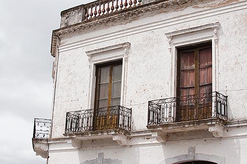 image 8-803-4660 Uruguay, Colonia del Sacramento, Ornate balcony, Historic District