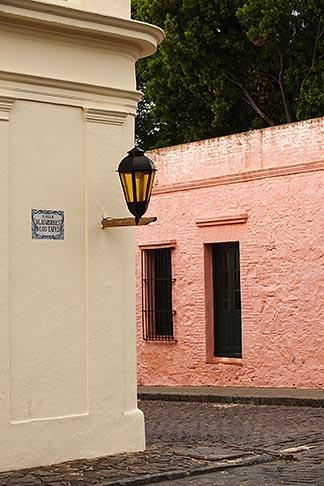 image 8-803-4908 Uruguay, Colonia del Sacramento, Street corner, Historic District