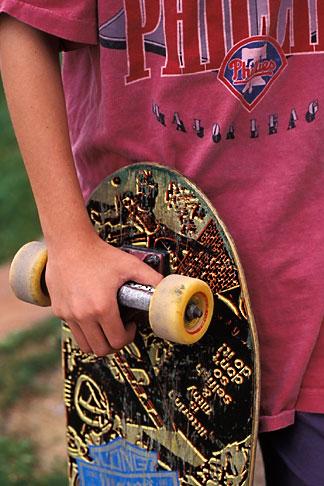 image 6-239-23 Skateboarders hands