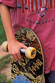 enjoy stock photography | Recreation, Skateboarders hands, image id 6-239-23