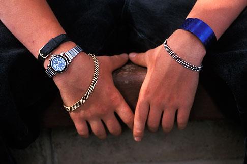 image 6-239-26 Skateboarders hands