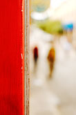 vertical stock photography | New Mexico, Santa Fe, Passersby, image id S4-350-1837