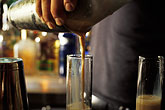 night life stock photography | New Mexico, Santa Fe, Pouring Drinks, Swig, image id S4-351-22
