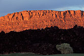 mountain stock photography | Utah, St. George, Entrada at Snow Canyon, Red rock hills, image id 3-860-77