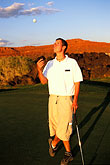 man stock photography | Utah, St. George, Entrada at Snow Canyon Golf Course, image id 3-861-66