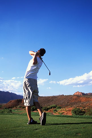 image 3-861-80 Utah, St George, Entrada at Snow Canyon Golf Course