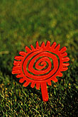spiral stock photography | Utah, St. George, Entrada at Snow Canyon Golf Course, detail, image id 3-863-11
