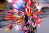 abstract stock photography | Vietnam, Hue, Balloon Vendor on bicycle, image id S3-194-17