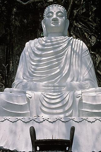 image S3-196-8 Vietnam, Danang, Marble Mountain, Buddha