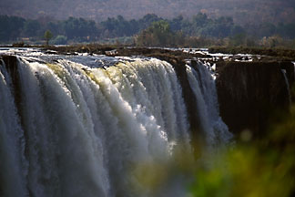 7-412-27 stock photo of Zimbabwe, Victoria Falls, Main Falls